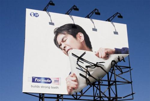 bien quang cao, biển quảng cáo