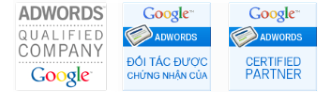 Đối tác được chứng nhận của Google Adwords